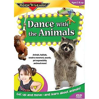Rock'N Learn - Dance with the Animals [DVD] USA import