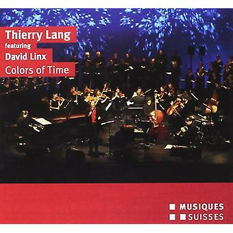 Thierry Lang - Colors of Time [CD] USA import