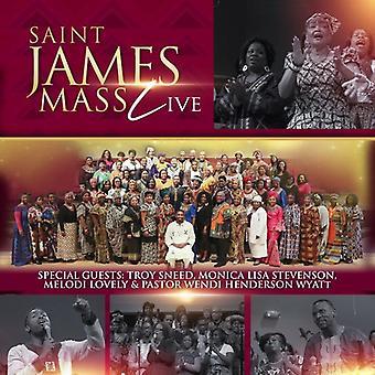 Saint James Mass - Saint James Mass (Live) [CD] USA import