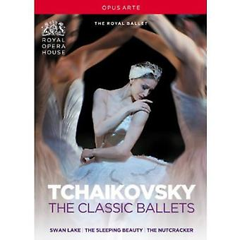 P.I. Tchaikovsky - Tchaikovsky Collection-Featuring the Royal Ballet [DVD] USA import