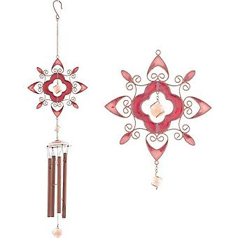 Something Different Flower Abstract Wind Chime