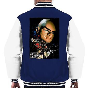 Thunderbirds Hood Portrait Men's Varsity Jacket
