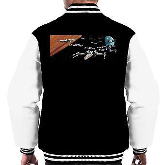 Star Wars Space Scene Men's Varsity Jacket