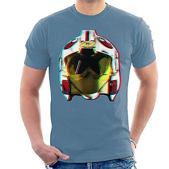 Oryginalna szturmowców Rebel hełm pilota efekt 3D męska koszulka