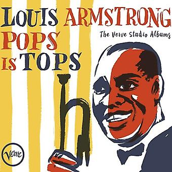 Armstrong*Louis - Pops Is Tops: The Verve Studio Albums [CD] USA import