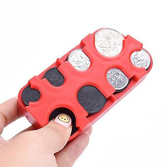 Creative High Quality Euro/dollars Coin Dispenser Storage Wallet Holder Money