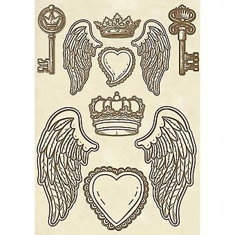 Wooden Shapes A5 Wings (KLSP047)
