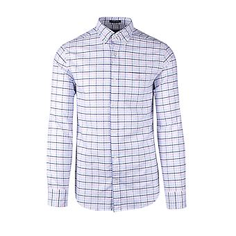 Gant The Beefy Oxford Check Shirt Sea Pink