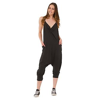 Cindy jersey jumpsuit - black