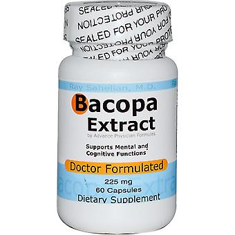 Advance Physician Formulas, Bacopa Extract, 225 mg, 60 Capsules