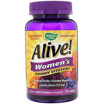 Nature's Way, Alive! Frauen's Vitamine, 75 Gummies