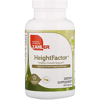 Zahler, Hoogtefactor, Ondersteuning voor gezonde groei, 120 capsules
