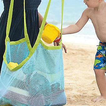 1 Pc Kids Baby Sand Away Carry Beach, Pouch Tote Mesh Large Storage Toy