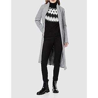 Encontrar. Mujeres's PHDB1079 Suéter de Navidad cuello de tortuga, Negro , XL