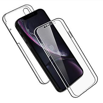 TPU Mobile Shell pour iPhone XR Phone Rubber Mobile Shell Shockproof 360 Transparent