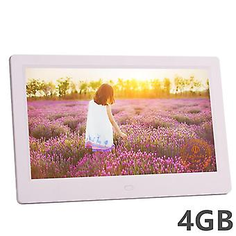 New 10 Inch Screen Led Backlight Hd 1024*600 Digital Photo Frame Electronic