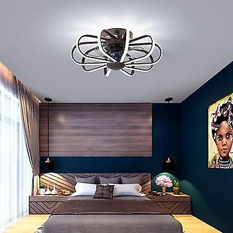Fan With Lamp For Home Living Room, Restaurant, Bedroom, Brightness Remote