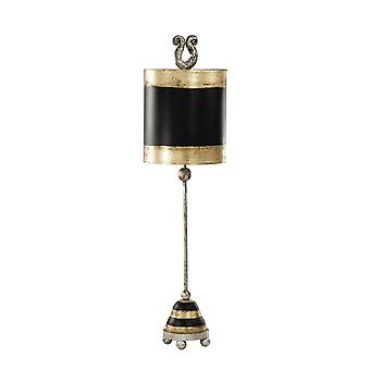 1 Lampe de table légère en acier, E27