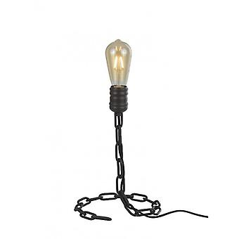 Linky Antique Iron Table Lamp 1 Light