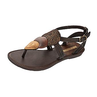 Grendha Dance Girls Flip Flops / Sandals - Black