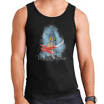 The Little Prince Big Ben Plane Men's Vest