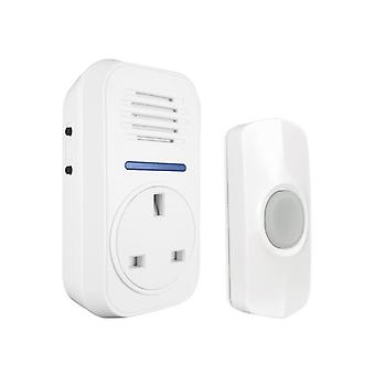 Uni-Com Smart Plug-Through Flashing Door Chime 66729