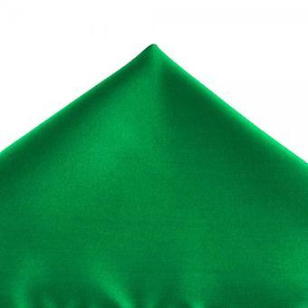 Bånd Planet Plain Hunter Green Pocket Square lommetørklæde