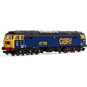 Hornby R3906 GBRf, Klasse 47/7, Co-Co, 47739 - Era 11 Locomotief