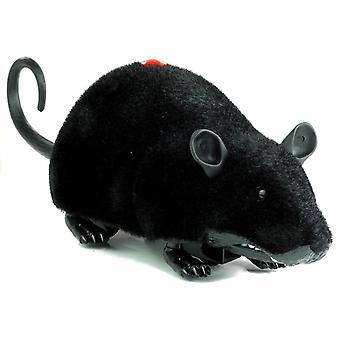 Big RC Mouse Spielzeug Räder schwarz - machen einen Streich