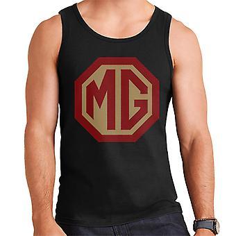 MG Red And Gold Logo British Motor Heritage Men's Vest