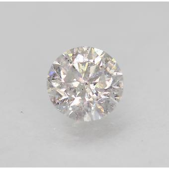 Sertifioitu 0,55 Carat D SI1 pyöreä loistava parannettu luonnollinen löysä timantti 5.16 mm