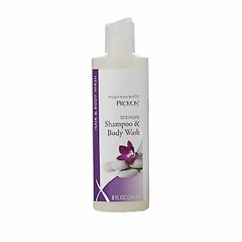 Gojo Shampoo and Body Wash, Herbal Scent 8 Oz