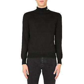 Msgm 2940mm13020757699 Mænd's Sort Uld Sweater