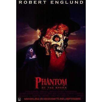 Opera elokuvajuliste (11 x 17) Phantom