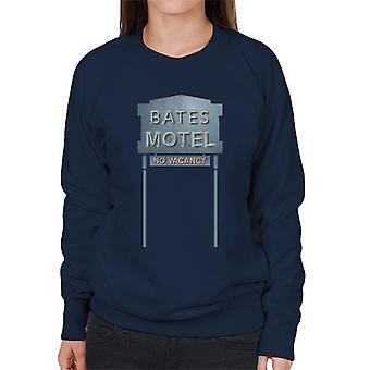 Psycho Bates Motel No Vacancy Women's Sweatshirt