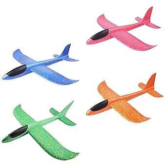 Foam Hand Throwing Airplanes Toy, 36cm ,48cm Flight Mode Glider Inertia Planes