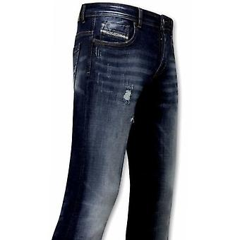 Stretch Jeans For - Blue