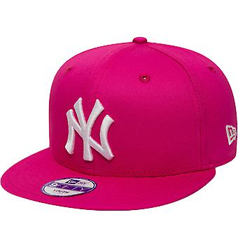 New Era Kids New York NY Yankees 9FIFTY MLB Essential Baseball Cap Rose 6-12 ans