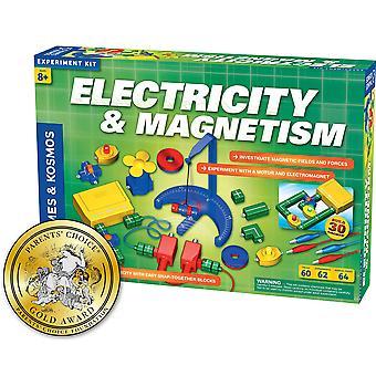 Thames & kosmos, e 620417 Electricity Science, Elektronik-Kit, Untersuchung von Magnetfeldern und forc
