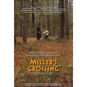 Millers rajan elokuvan juliste tulosta (27 x 40)