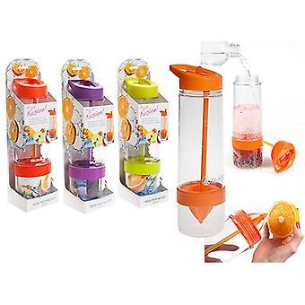 Summit MyBento Fruit Infuser Bottle 750ml - 1 Unit Orange Bottle