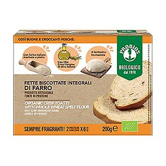 Wholemeal Spelled Artisan Rusks 2 units