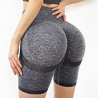 Sports Shorts Women Seamless Push Up Casual High Waist Booty Fitness Workout
