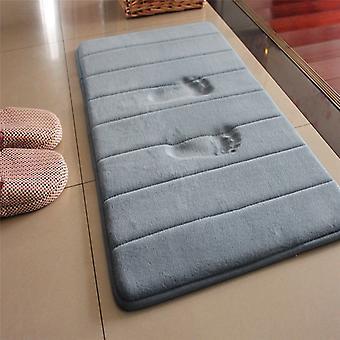 Главная Ванна Мат Non-slip Ванная комната ковер Мягкий Коралловый Руная память Пена Коврик Кухня Туалет Этаж Декор