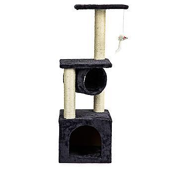 Katze Kratzer, Haus, Höhle, Baum