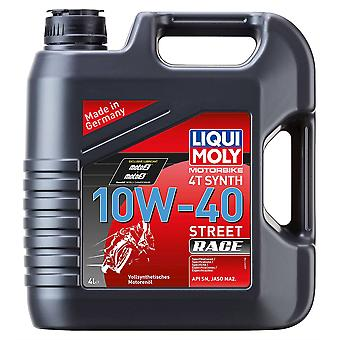 Liqui Moly 10W-40 4-Stroke Fully Synthetic Racing 4-Stroke Engine Oil 4L