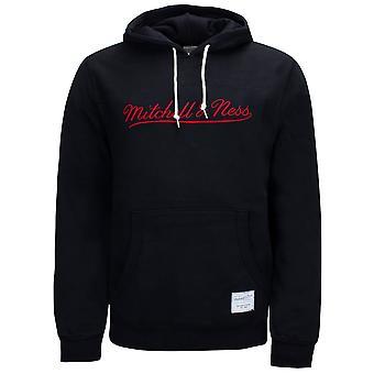 Mitchell & Ness Branded Essentials Huppari Miesten logo Collegepaita Musta MNNBLCK1