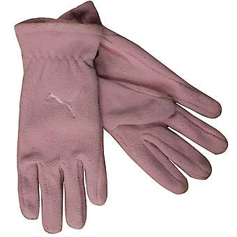 Puma Fundamentals Fleece Womens Adults Winter Gloves Pink 040861 04 UW