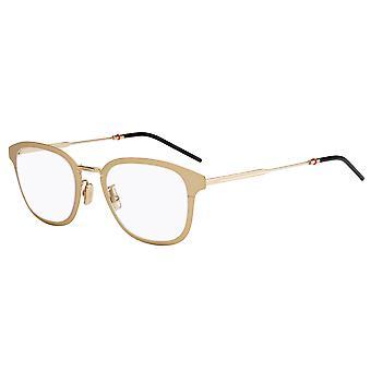 Dior Homme Dior0232F Aasialainen Fit AOZ Matte Kulta lasit