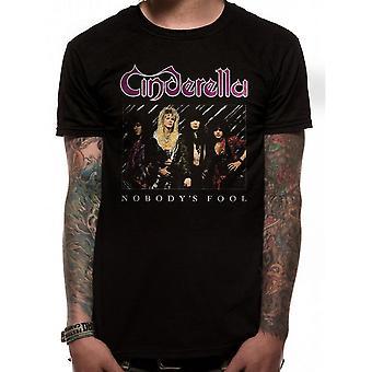 Cinderella Unisex Adults Nobodys Fool Design T-Shirt